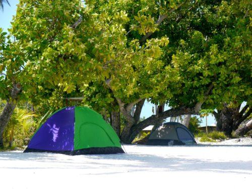 Bora Bora Island camping